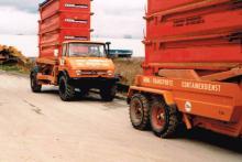 Unimog 4container